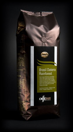 Koffiebonen - Brasil Daterra Rainforest - Caffè Duo
