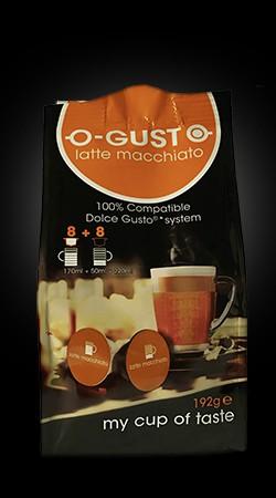 O-Gusto - Latte Macchiato voor Dolce Gusto